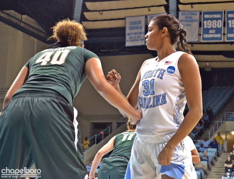 NCAA Women's 2nd Round – North Carolina vs. Michigan State