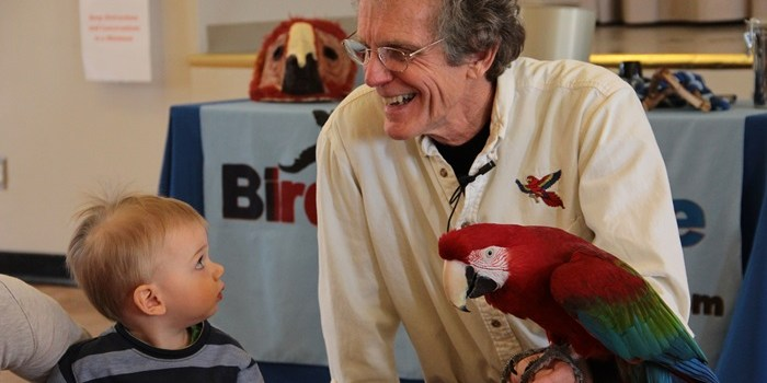 Birdman Dave at the Century Center