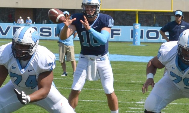 Blue Downs White 38-17 In Annual Spring Football Game