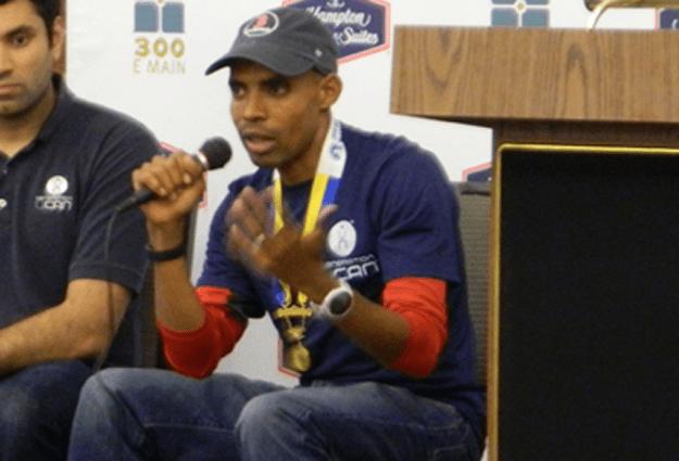 Boston Marathon Winner Visits Carrboro