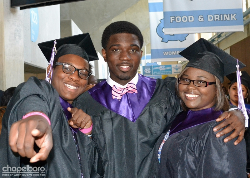 Carrboro High School Graduation!