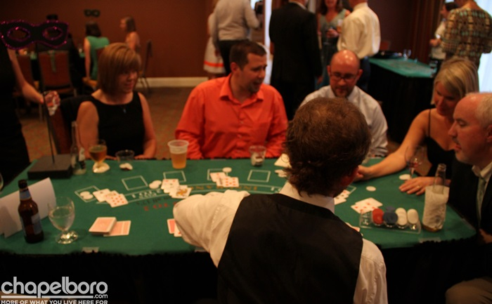 Casino Night at the Franklin