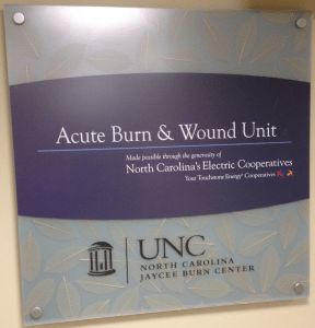 UNC Jaycee Burn Center