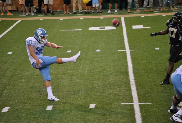 Strong-Legged UNC Punter Tommy Hibbard Proving His Worth