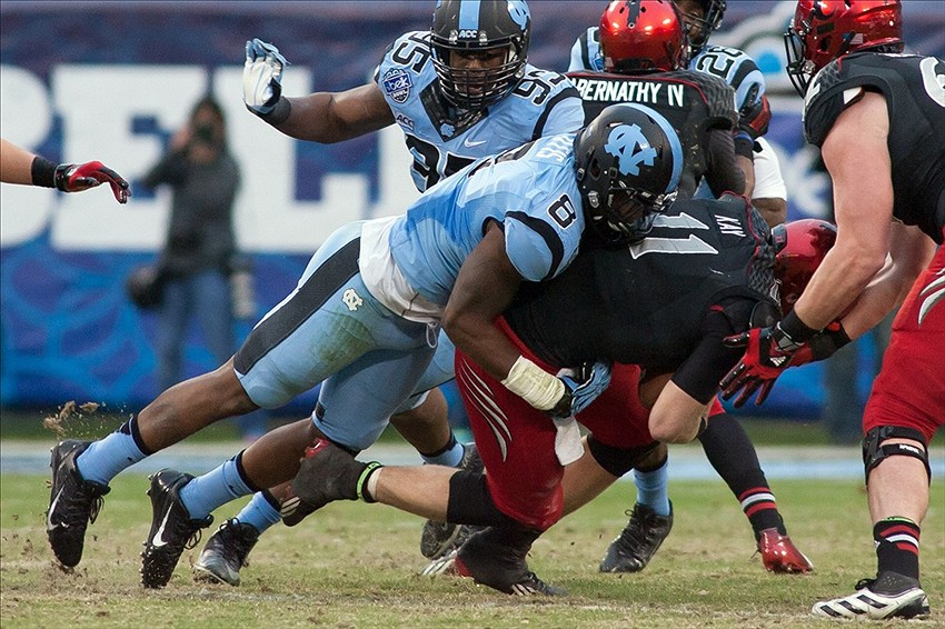 Defensive Warrior Otis Embracing Tar Heel 'Family'