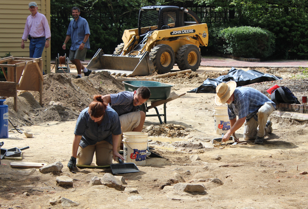 Former UNC President's House Unearthed