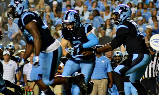Tar Heels Conquer Aztecs With 31-27 Comeback Stripe Out Win