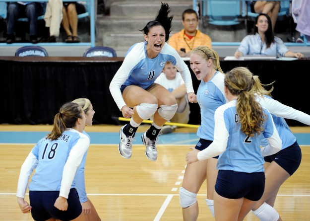 UNC Volleyball Soars to No. 7 Ranking in Coaches Poll