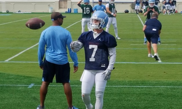 Tar Heels Lose Top WR Proehl to Season-Ending Injury
