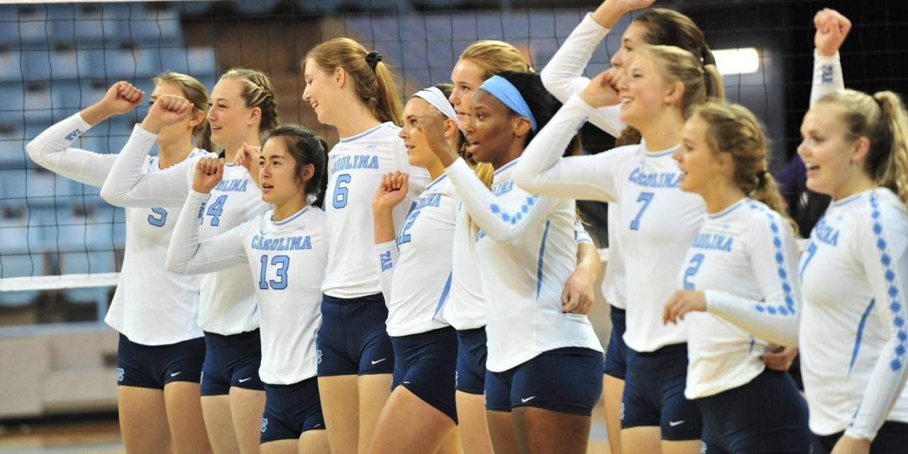 UNC Volleyball Ranked 11th in AVCA Preseason Poll