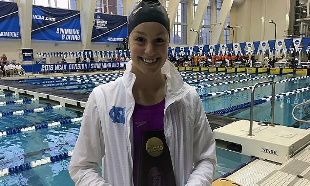 UNC Swimmer Hellen Moffitt Wins Gold Medal at World University Games