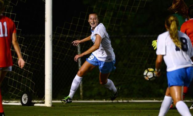 UNC Women's Soccer Edges Past No. 19 Clemson