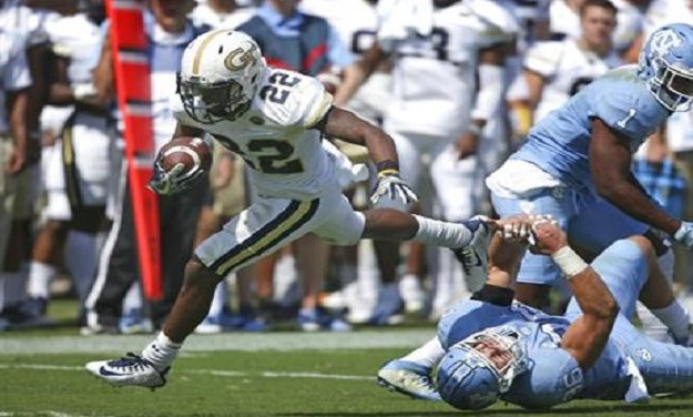 Georgia Tech Pounds UNC Football, Drops Tar Heels to 1-4