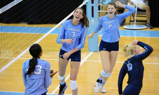 Volleyball: Tar Heels Earn Hard-Fought Rivalry Win Over Duke