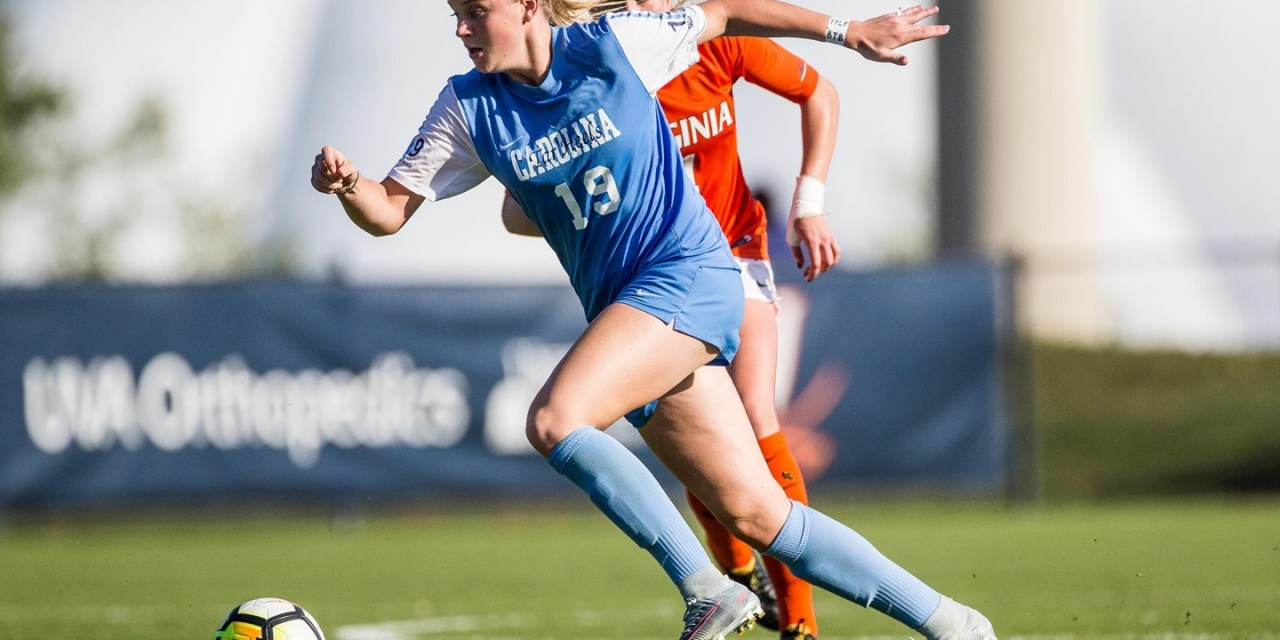 UNC Freshman Alessia Russo Earns National Women's Soccer Player of the Week Honors