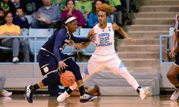 Start Time Moved Up to 4:00 p.m. for Thursday's UNC Women's Hoops Game vs. NC State
