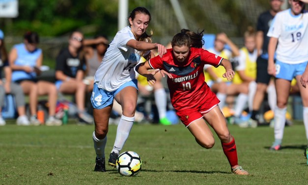 Women's Soccer: Tar Heels' Winning Streak Ends in Scoreless Draw vs. Louisville