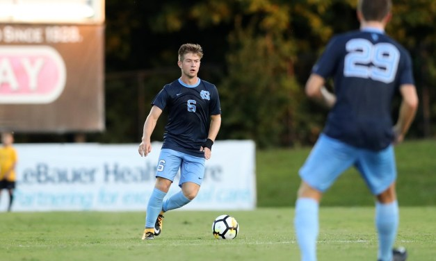 UNC Men's Soccer Clinches ACC Coastal Division With Win Over Virginia Tech