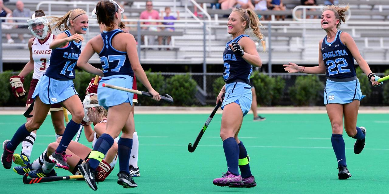 UNC Field Hockey Advances to ACC Semifinals With Win Over Wake Forest
