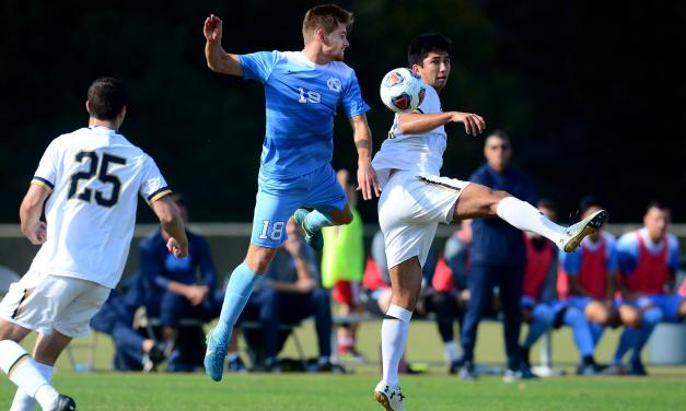 Notre Dame Upsets UNC in ACC Men's Soccer Quarterfinals