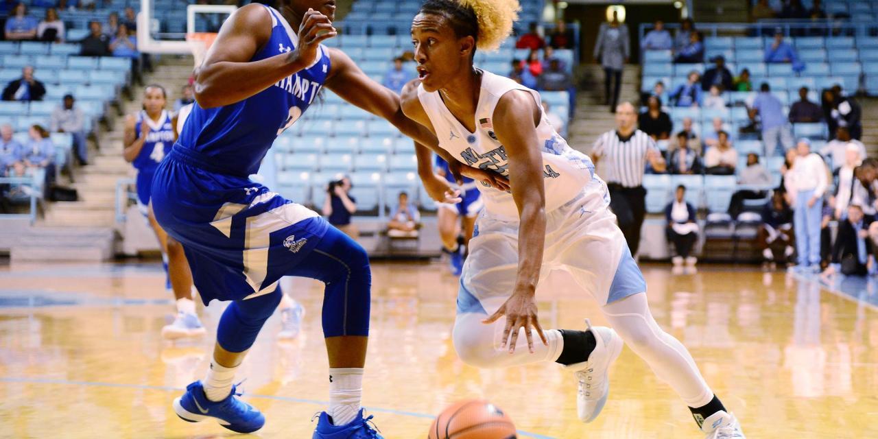 Hampton Shocks UNC Women's Basketball in Season Opener