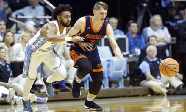Tar Heels Fend Off Upset-Minded Bucknell Down the Stretch, Pick Up Victory in Berry's Return