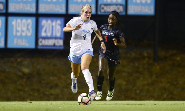 Andrzejewski's Goal Enough to Move UNC Women's Soccer Past Colorado, Into NCAA Tournament Third Round