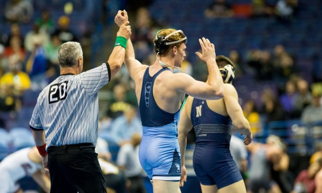 UNC Wrestling Dominates Appalachian State, Notches First Win of Season