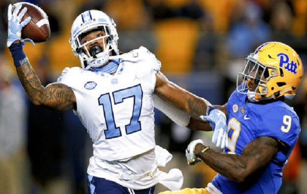 Anthony Ratliff-Williams Only UNC Football Player Selected to All-ACC Teams, Two Tar Heels Named Honorable Mention