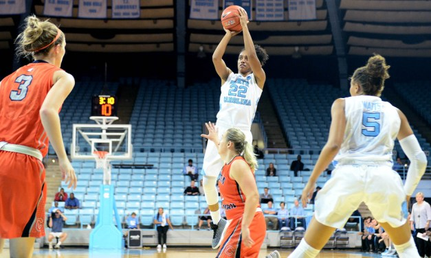 Blowout Over Presbyterian Hands UNC Women's Basketball Fifth Straight Victory