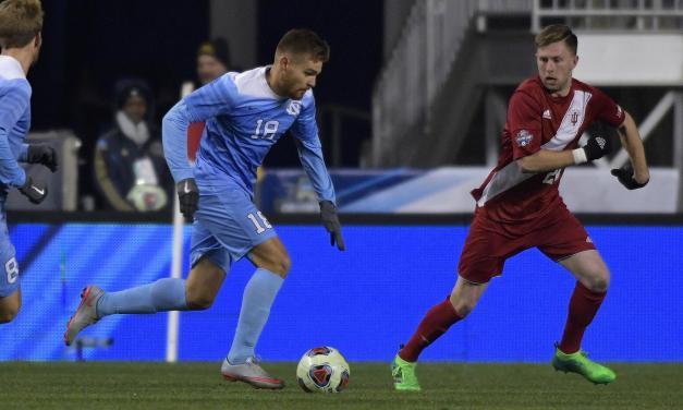 No. 2 Indiana Defeats UNC Men's Soccer in College Cup Semifinals