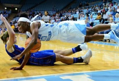 UNC Women's Basketball Topples Furman, Extends Win Streak to Six Games