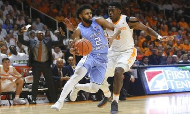 Kenny Williams' Clutch Three-Pointer Helps No. 7 UNC Complete Comeback Victory Over No. 20 Tennessee