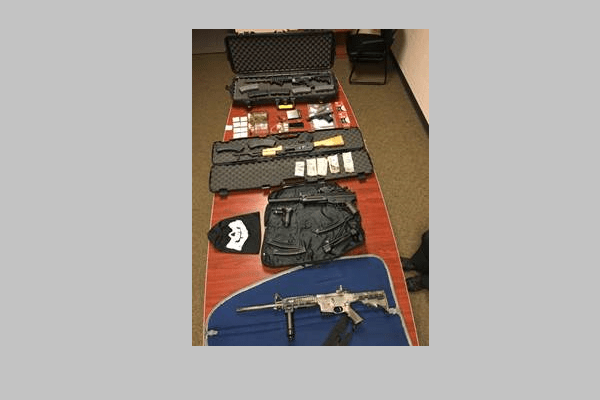 Orange County Traffic Stop Leads to Guns, Narcotics Charges