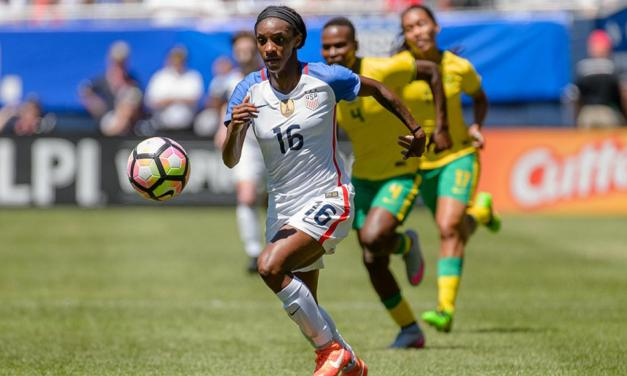 NWSL Names Former UNC Star Crystal Dunn as Player of the Week