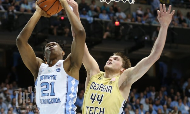 Rebounding Powers No. 15 UNC Past Georgia Tech, Tar Heels Win Fourth Straight