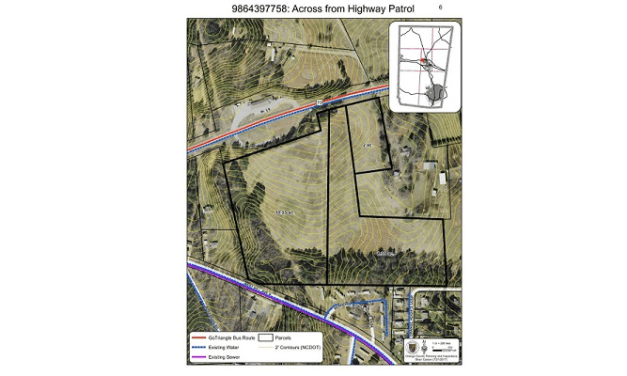 Hillsborough to Hold Public Hearing on Highway 70 Rezoning Request
