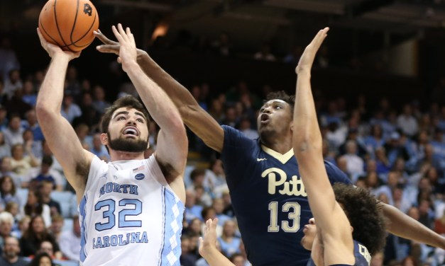 Maye's Big Night Helps No. 19 UNC Blow Out Pitt, End Three-Game Losing Skid