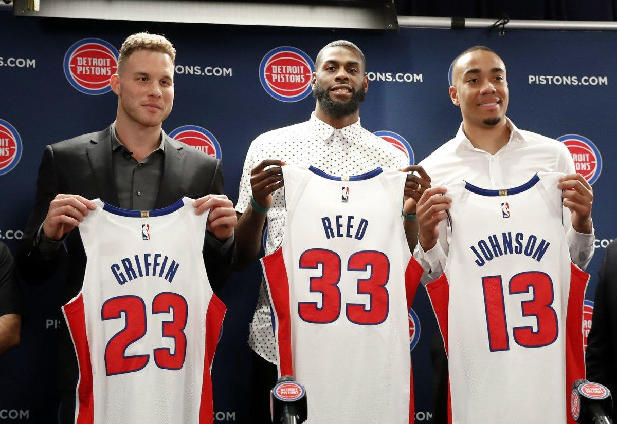 Detroit Pistons acquire James Ennis for Brice Johnson