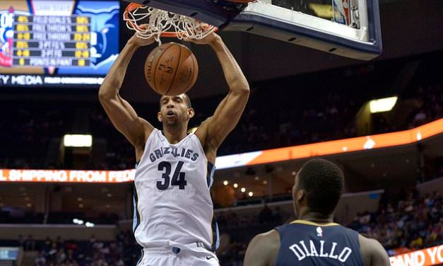 Brandan Wright to Sign With Houston Rockets After Reaching Buyout Agreement With Memphis Grizzlies