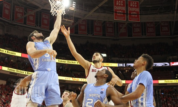 Luke Maye's Career Day Propels No. 21 UNC to Victory Over NC State in Raleigh