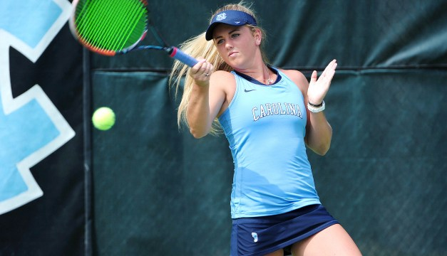 UNC Women's Tennis Dispatches Duke, Punches Ticket to ITA National Indoor Finals
