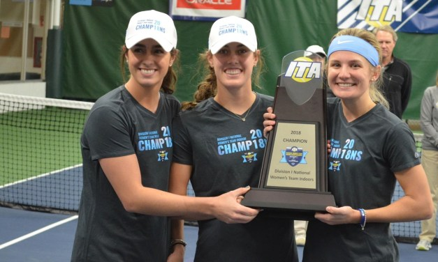 ITA Moves Tar Heel Women Into No. 1 Ranking Following National Indoor Championship Title