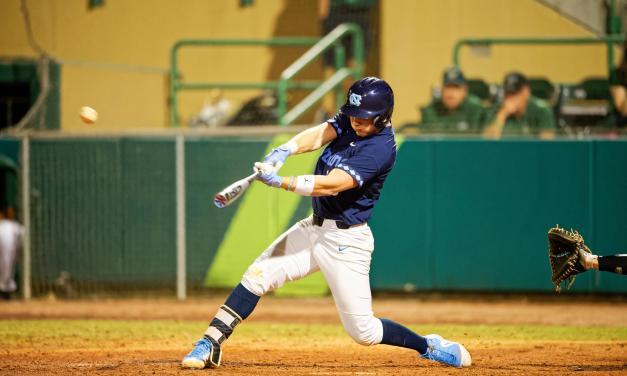 Late Rally Falls Short as USF Upsets No. 6 UNC Baseball in Season Opener