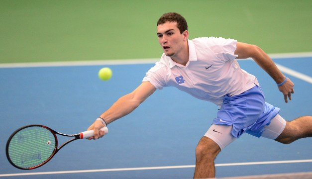UNC Sophomore William Blumberg Takes Over No. 1 Men's Tennis Singles Ranking