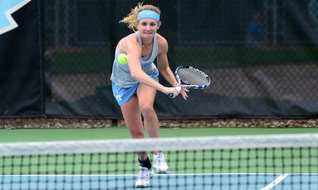Top-Ranked Tar Heels Take Down NC State in ACC Women's Tennis Opener