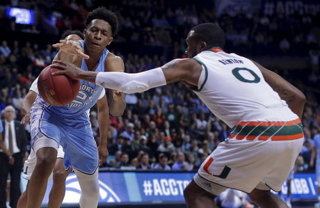 No. 1 men's basketball beats North Carolina to win ACC Tournament Championship