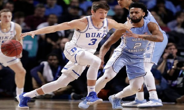 UNC Holds On to Defeat Duke, Earn Spot in ACC Championship Game