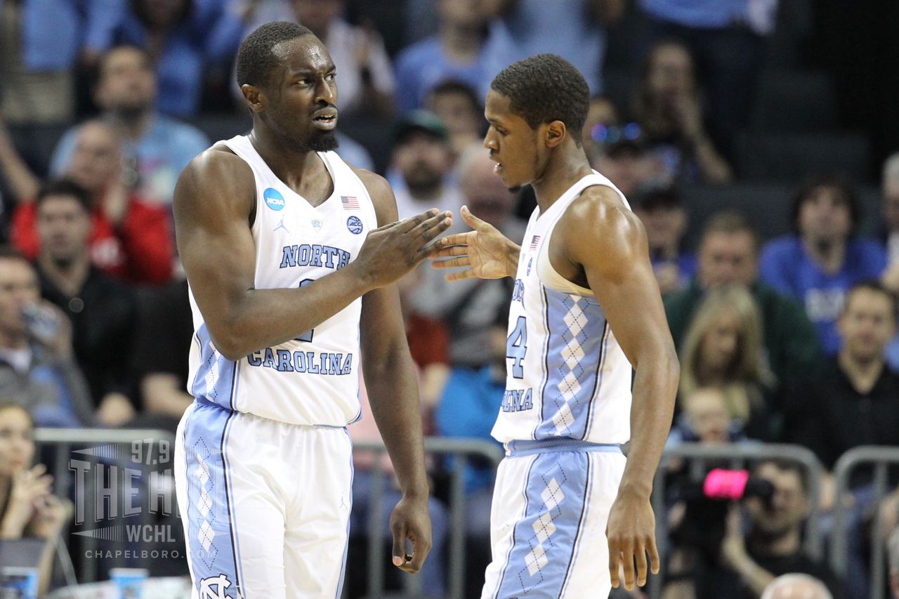 Theo Pinson and Kenny Williams led the way as UNC rolled past Lipscomb in the second half on Friday
