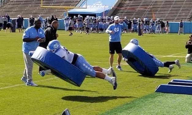 UNC Football Using Dismal 2017 Campaign as Motivation in Spring Practice